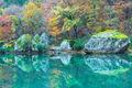 Fall Reflections At Big Piney Creek print
