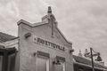 Fayetteville Depot In Sepia print