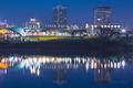 River Market Reflections print