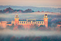 Fog At Old Main print