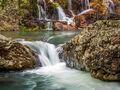 Saline River Cascades print