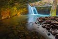 A Hidden Waterfall print