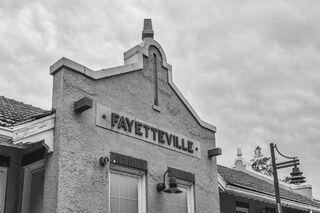 Fayetteville Train Depot