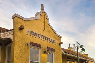 Fayetteville Depot In Color