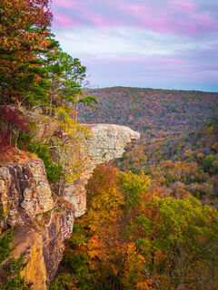 Hawksbill Crag, Upper Buffalo Wilderness, Whitaker Point, fall, autumn