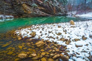 Snow at Jack Creek