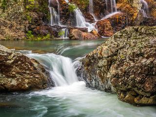 Saline River Cascades