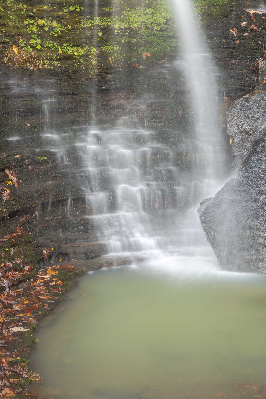 waterfall, green, green pool, photo