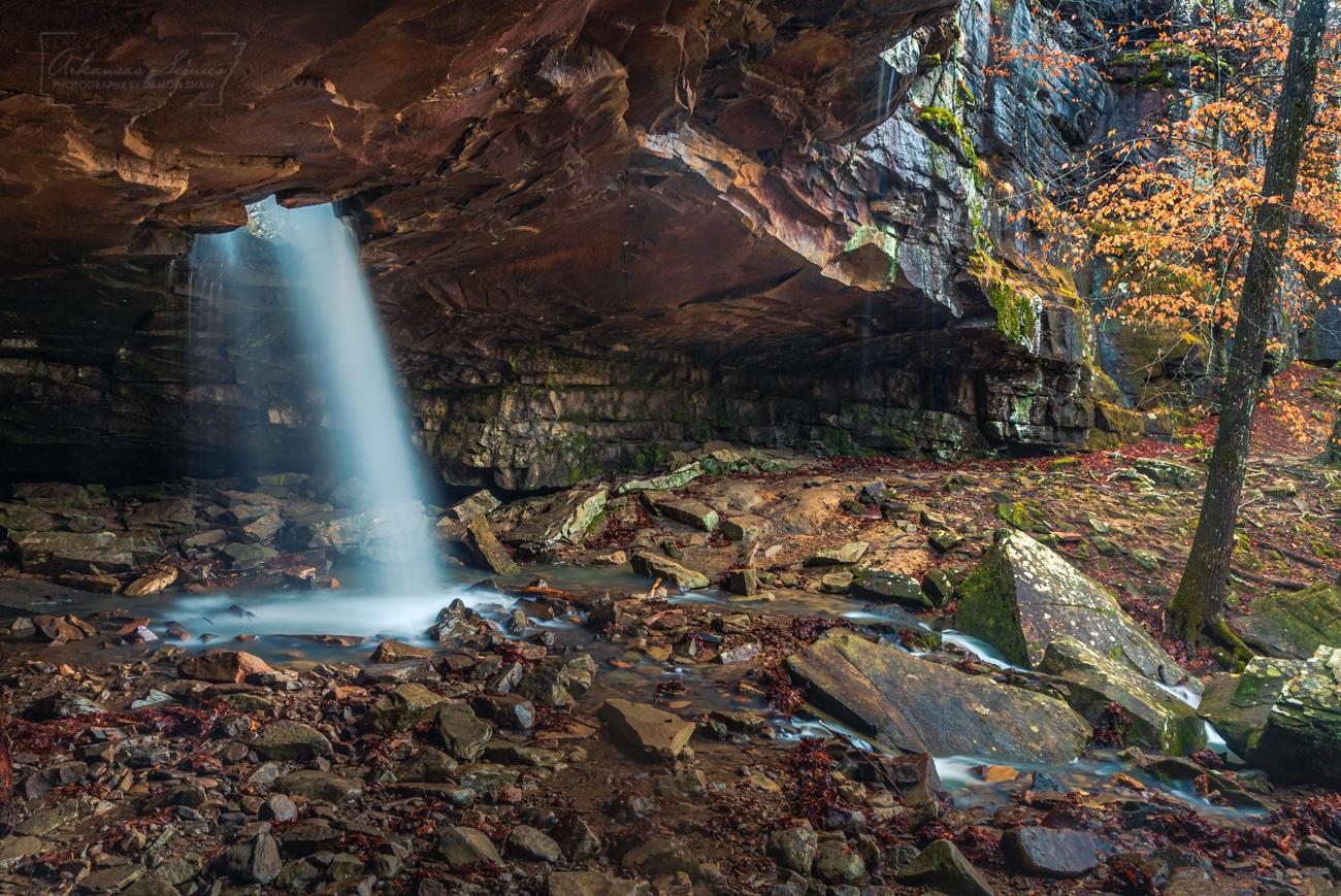 Glory Hole, waterfall, Arkansas waterfalls , photo